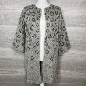 NWT Grey Long Cardigan Cupcakes & Cashmere Small